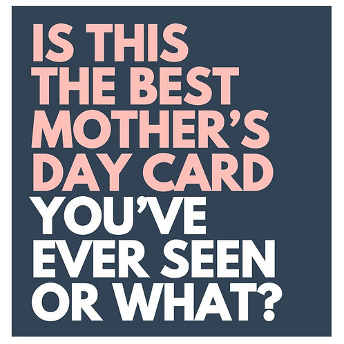 Best Mother's Day card
