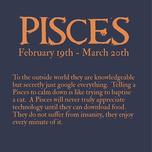 Pisces Horoscope card