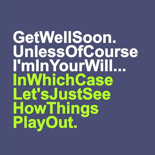 Get Well Will card