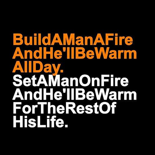 Man Fire card