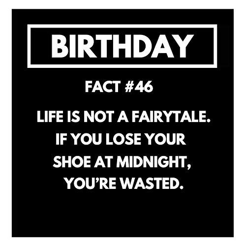 Birthday Fact#46 card