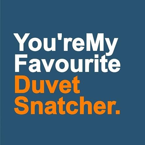 Duvet Snatcher card