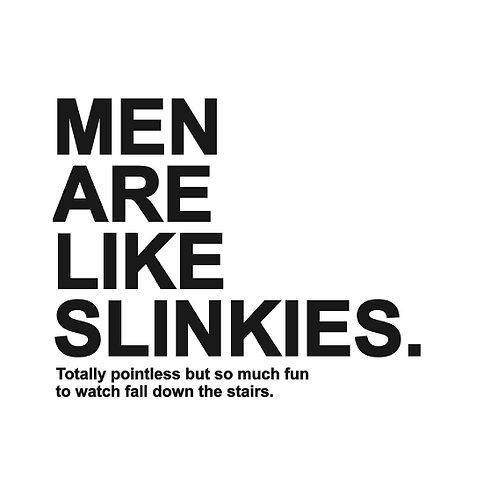 Men Slinkies card