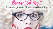 Baffled about blonding? Dimensional hair color terms demystified