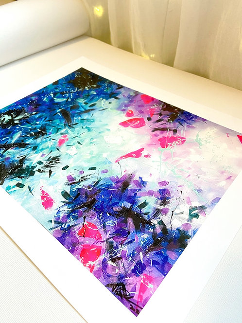 Fine Art Print of Original Abstract Painting