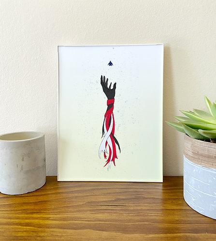 Cant Breathe // Illustration Art Print // BLM
