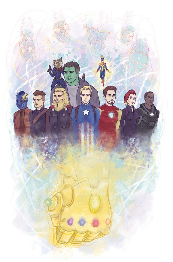 Avengers Endgame Art