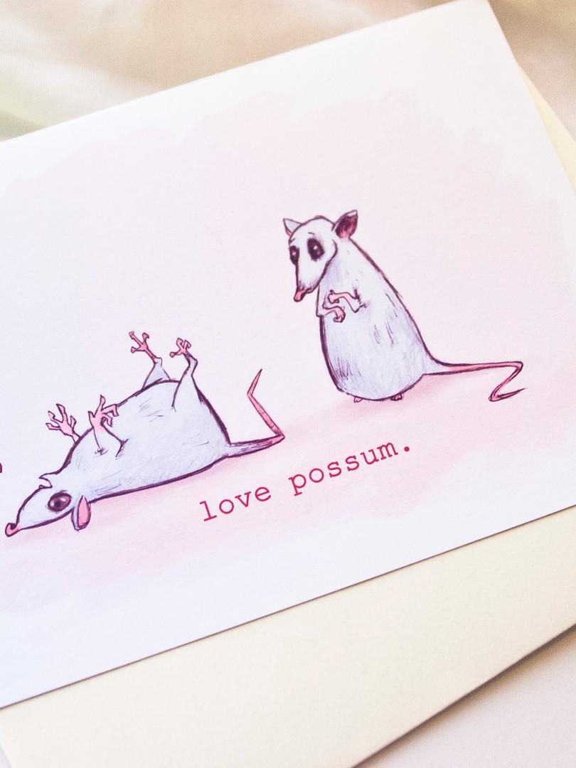 love possum