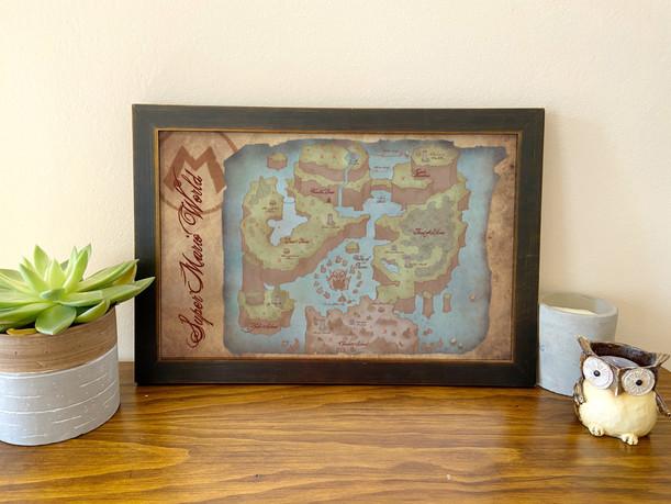 Super Mario Map