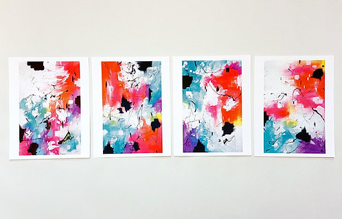 Limited Edition Fine Art Prints // Abstract Painting Series, Spirit