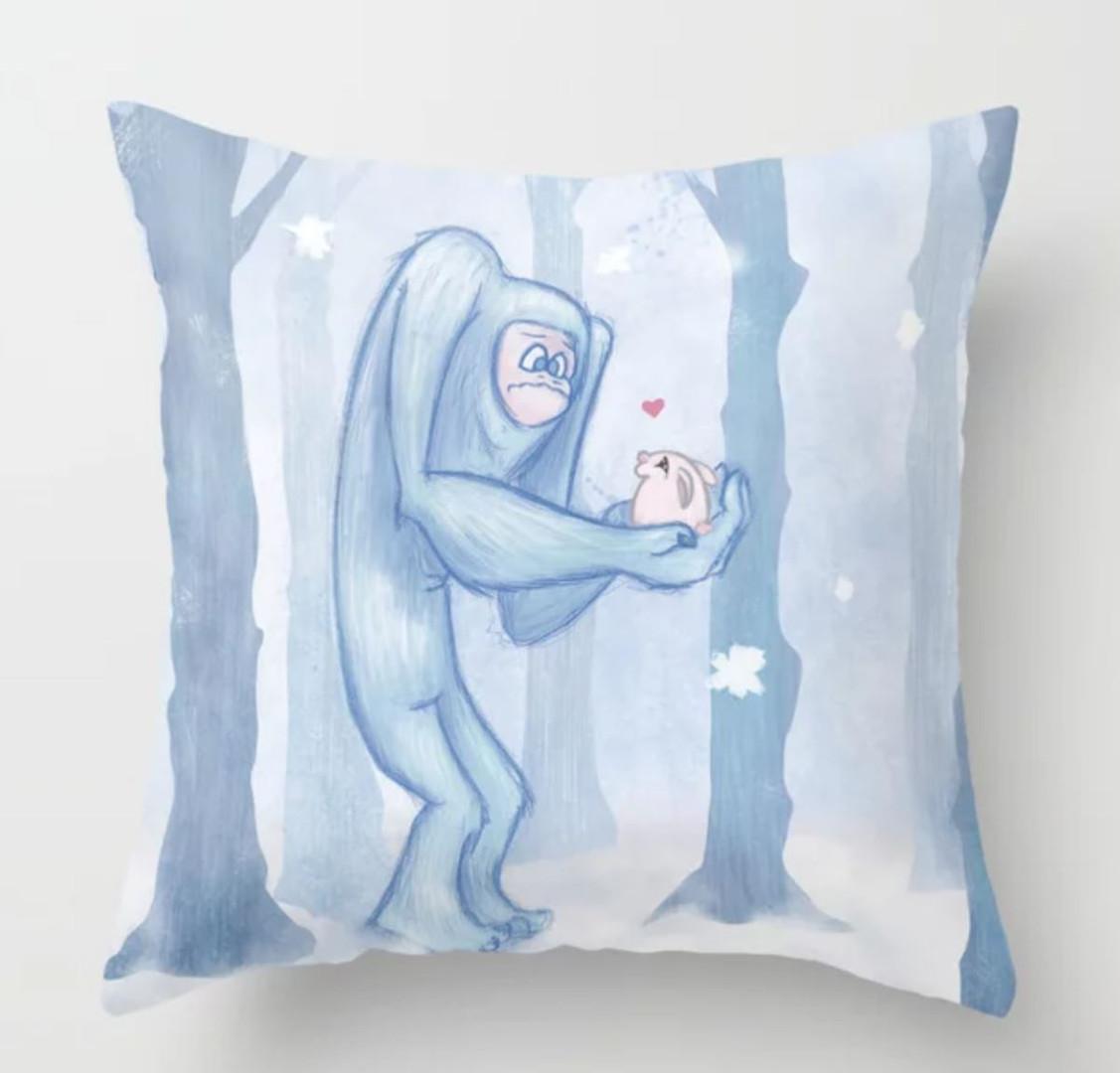 yeti pillow