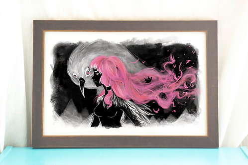 Feathers // Illustration/Art Print