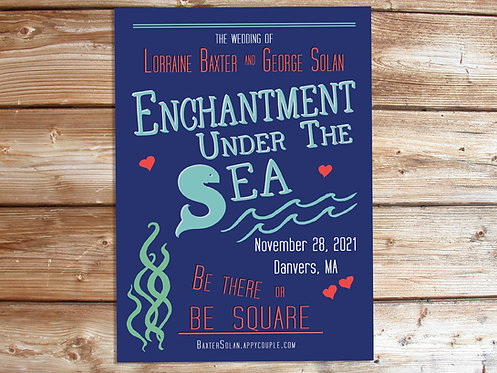 Enchantment Under the Sea // Back to the Future Save the Date