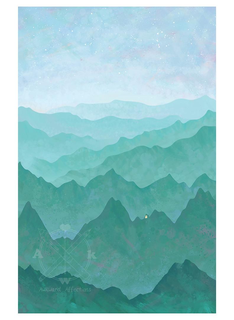 mountain green