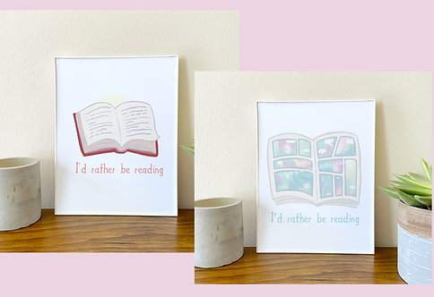 I'd Rather be Reading Comics // Geeky Home Decor