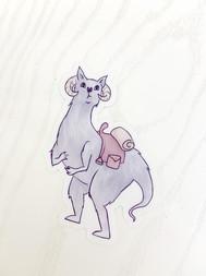 tauntaun sticker