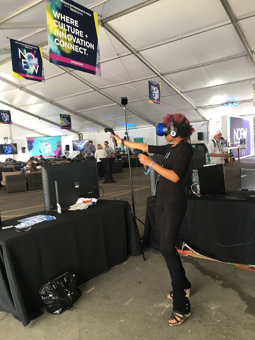 Virtual Reality Rental at NOEW Trade Show