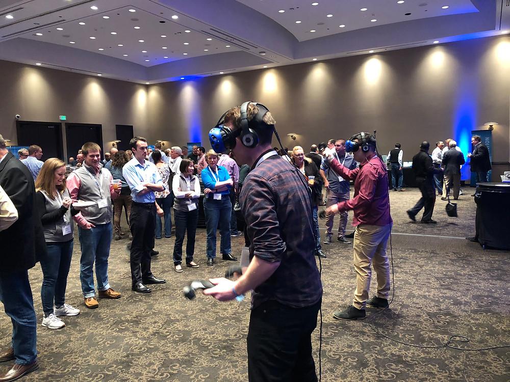 Virtual Reality Rentals at a Las Vegas Trade Show
