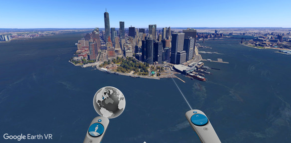 Google Earth Virtual Reality Experience Image