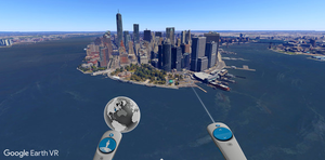 Image of Google Earth VR Game