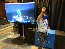 Virtual Reality Houston VR Booth