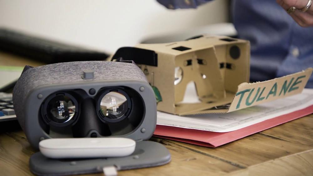 VR Headset At Tulane University