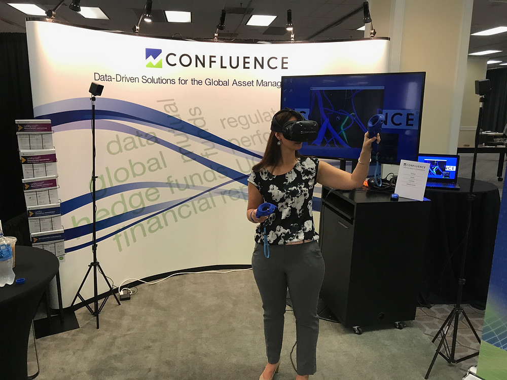 Virtual Reality Rental At The Confluence Company Booth