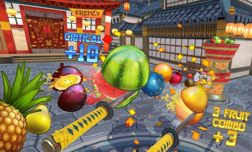 Fruit Ninja VR Game