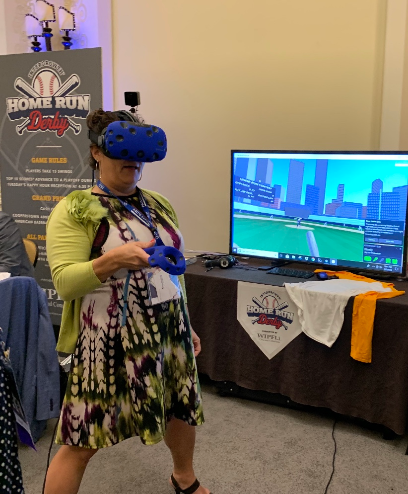 Virtual Reality Booth Rentals At A Company Conference