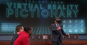 Jimmy Fallon Playing Pictionary VR