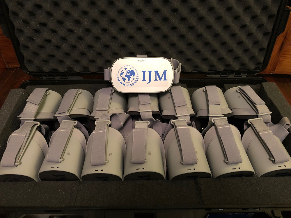 IJM Branded Headsets Packed For Their VR Rental