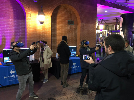 Maverick VR: Bringing our Virtual Reality Booths to Universities Across the Country