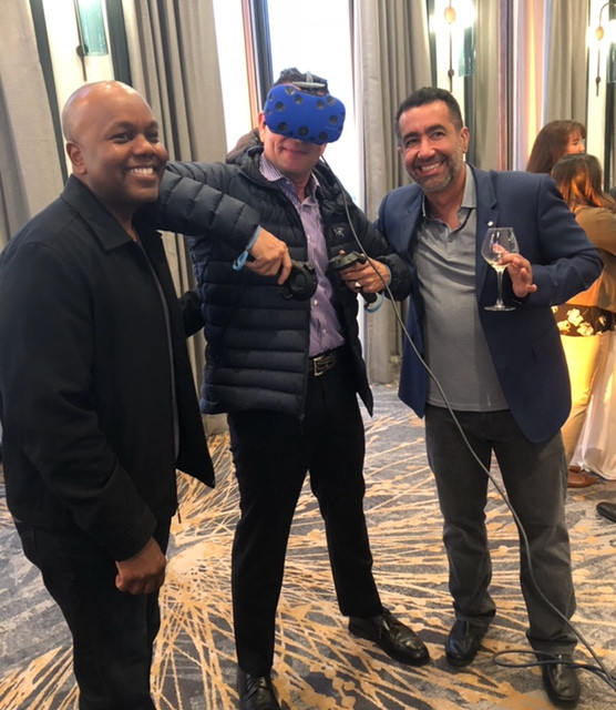 3 Men At A Vancouver Virtual Reality Rental