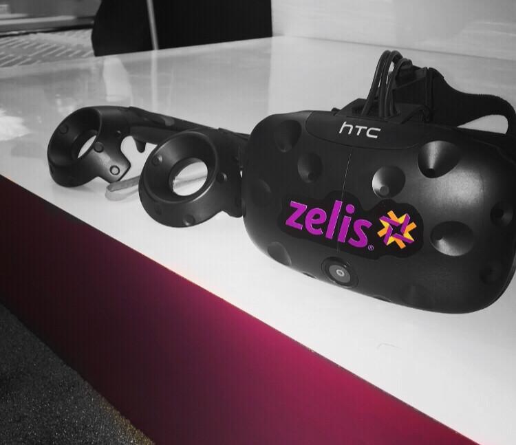 Zelis Branded HTC Vive Headset