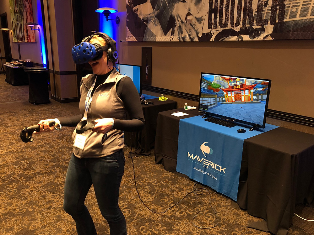 Virtual Reality (VR) Booth Corporate Events