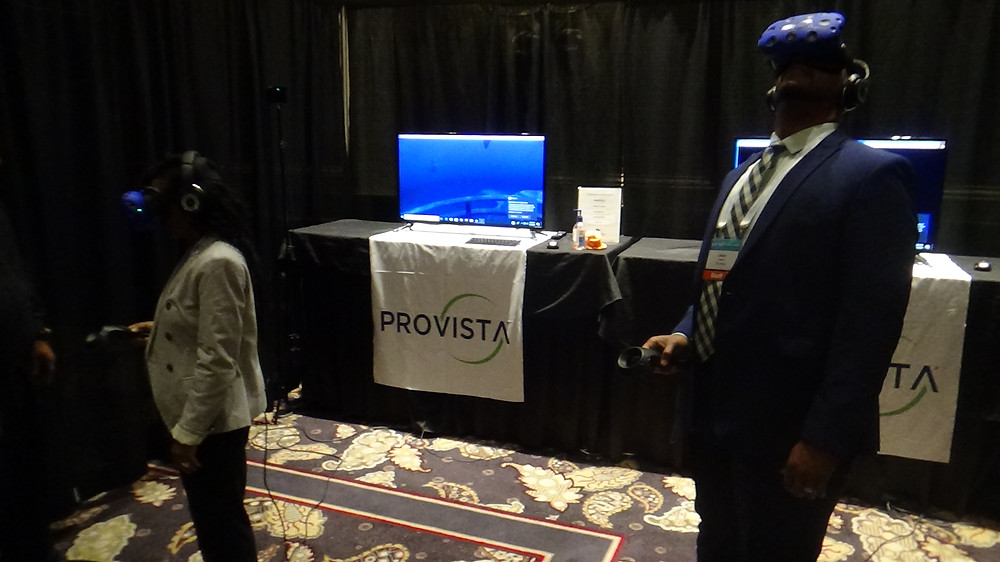 Provista Branded Virtual Reality Booth