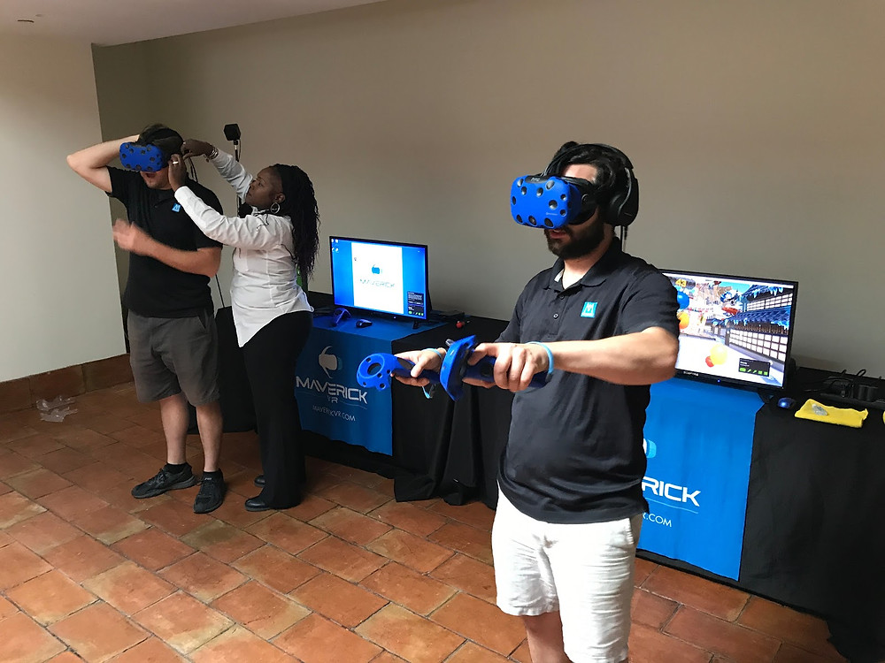 Multi Station VR Rentals at a Washington DC Event