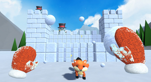 Snow Fortress VR Game