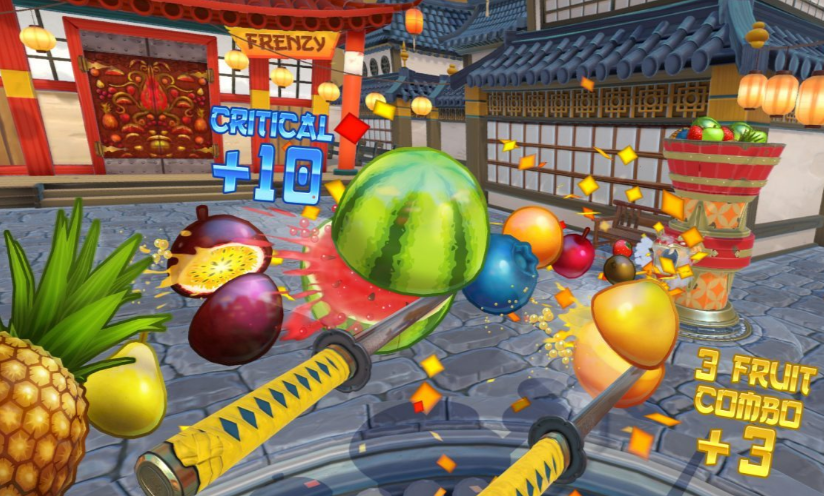 Image of Fruit Ninja VR Game