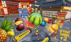 Virtual Reality (VR) Fruit Ninja Game