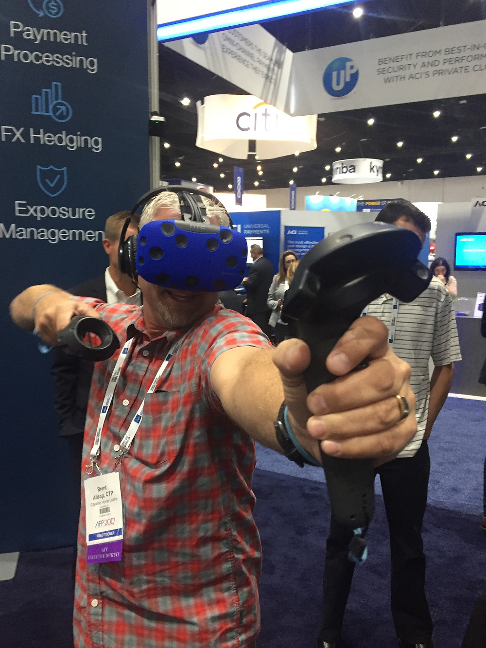 Image of VR at a Trade Show