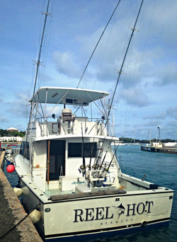 Charter fishing Bermuda