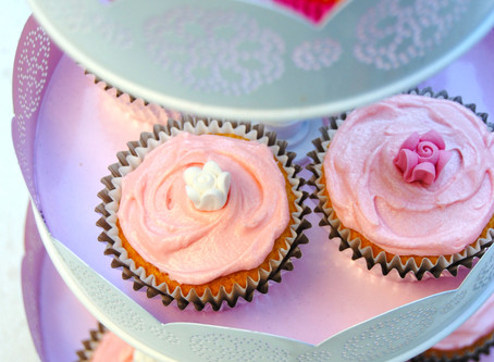 Pink Cupcakes for a Pink Cause