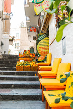 Lemons and the Sea, that's Amalfi
