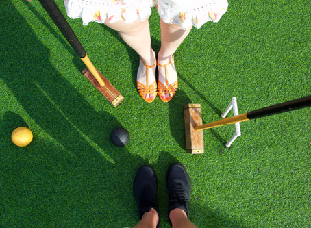 An Afternoon at the Croquet