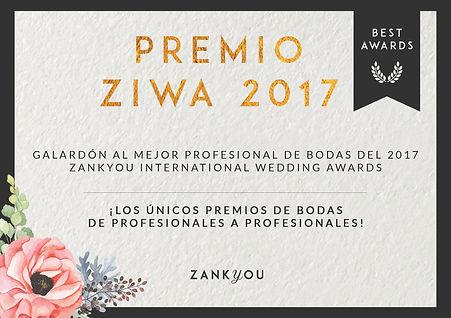 Premio ZIWA 2017