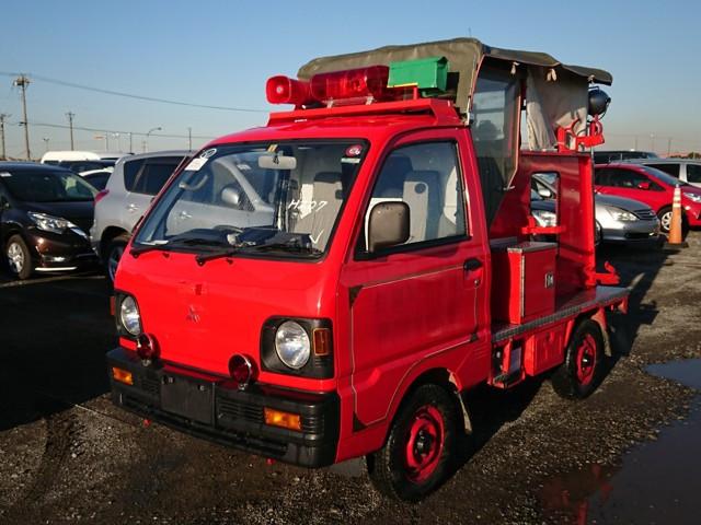 Japanese fire truck