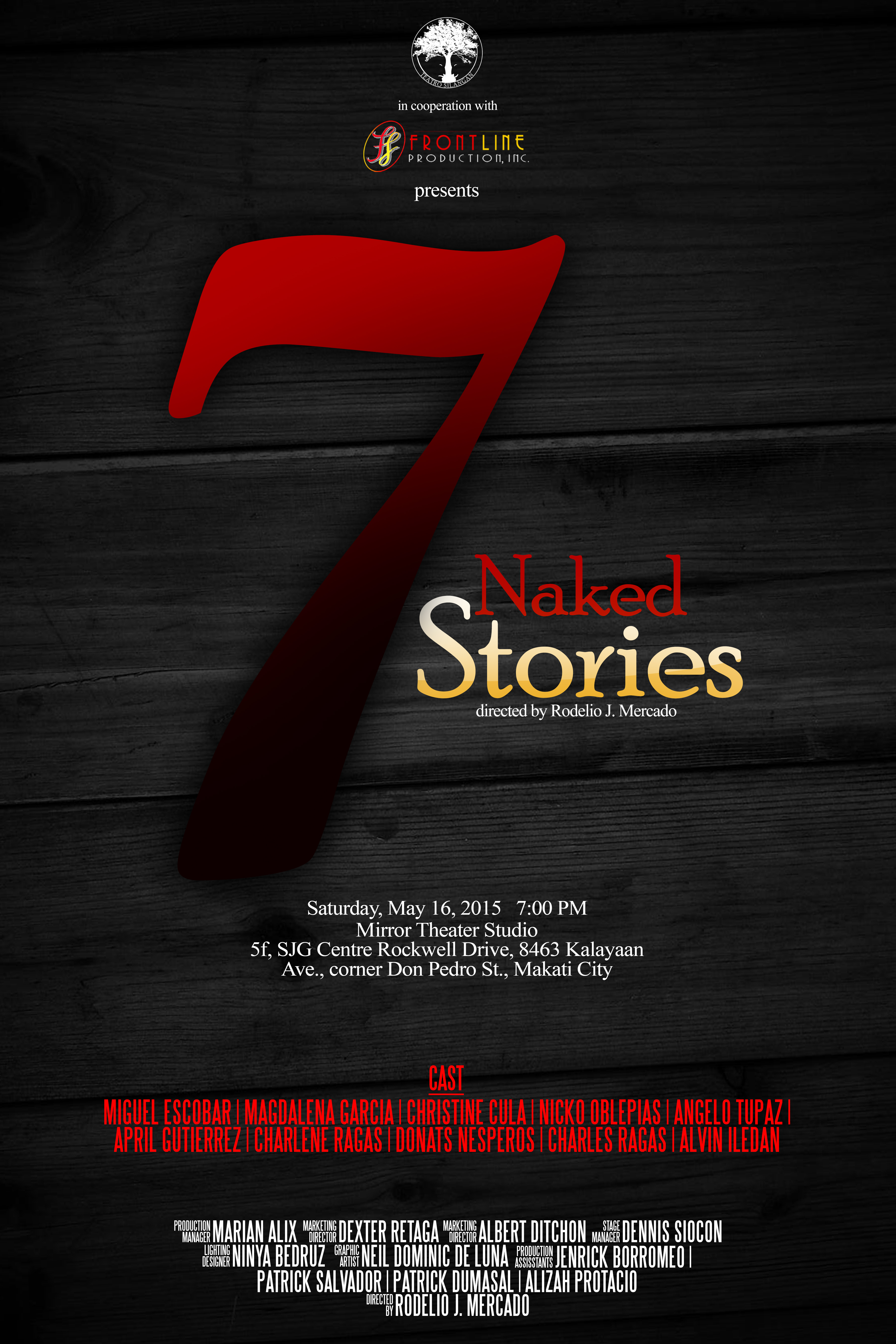 7 Naked Stories