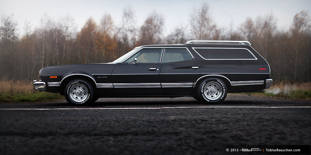 us car one us import amerikanische sportwagen oldtimer ford gran torino station wagon. Black Bedroom Furniture Sets. Home Design Ideas