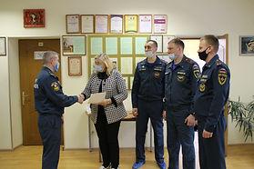 Сегодня в гостях у нашего центра были представители Академии Государственной противопожарной службы МЧС России